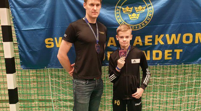 Dubbelt brons på Svenska Cupen 3