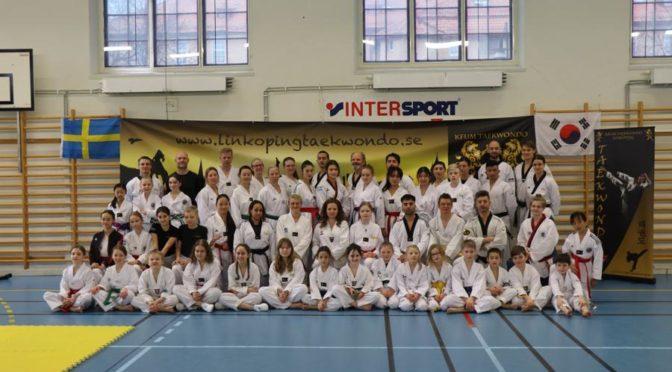 Taekwondo läger i Poomsaens anda